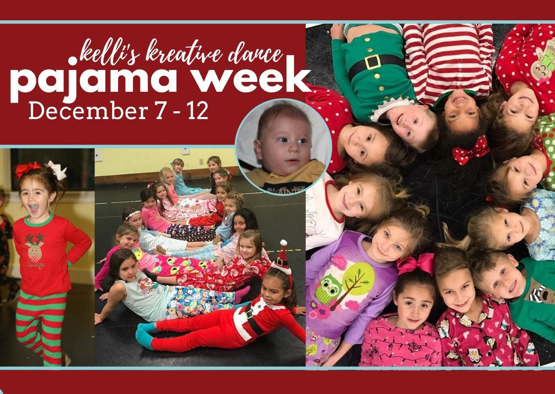Kelli's Kreative Dance Pajama Week